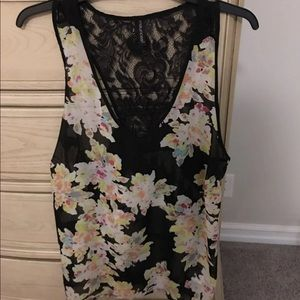 Maurices Watercolor Racer Back Tank